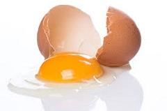 rozbité vajíčko