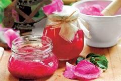 ružové želé