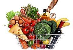 výdavky za potraviny