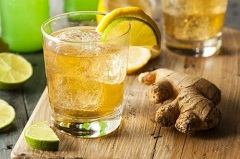 zázvorový nápoj