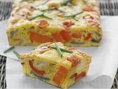 zeleninový koláč so syrom