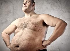 človek s obezitou