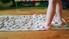 Ako vyrobiť senzomotorický koberec