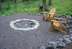 ako postaviť záhradné ohnisko