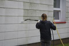 ako umyť fasádu domu
