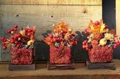ako vyrobiť jesenné dekorácie