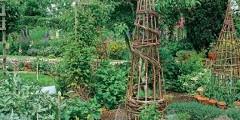 ako vyrobiť mrežu na popínavé rastliny