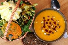 batátovú polievku
