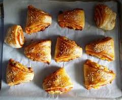 cesnakové trojuholníky - slané pečivo na každý deň