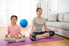 cvičenie jogy doma