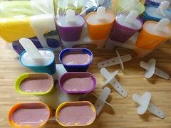 domáca ovocná zmrzlina