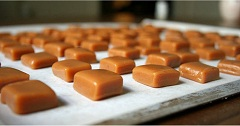domáce karamelky