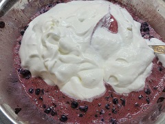 domácu ovocnú zmrzlinu