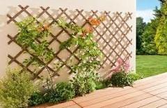 drevené mreže na popínavé rastliny