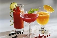 letné nápoje fizzy