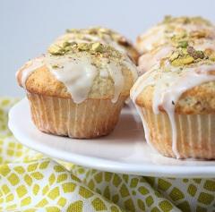 muffiny s citrónovou polevou