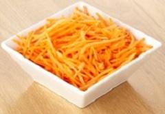 nastrúhaná mrkva