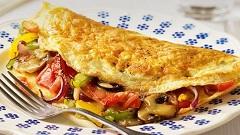 omeleta so zeleninou