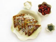 recept na bylinkovú polentu