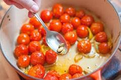 recept na cestoviny s paradajkami