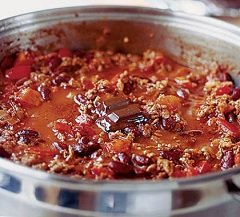 recept na chilli con carne