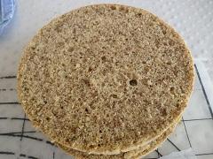 recept na korpus na orechovú tortu