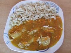 výborný recept na kura na mrkve
