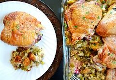 recept na morčaciu pečienku s plnkou