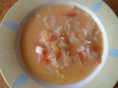 recept na polievku z hlávkovej kapusty