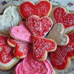 recept na valentínske sušienky