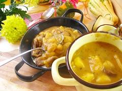 recept na zapečený zemiakový guláš