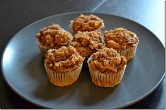 recept na zdravé orechové muffiny
