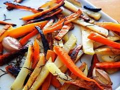 recept na zeleninové hranolky
