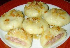 recept na zemiakové knedle