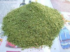 sušený ligurček na domáce polievkové korenie
