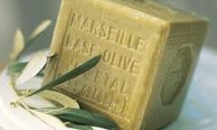 tradičné marseillské mydlo