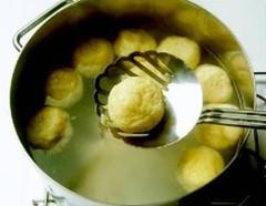 varenie čučoriedkových knedlí