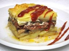zapečené zemiaky servírovanie