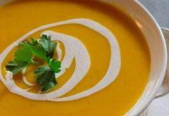 ako uvariť orientálnu tekvicovú polievku