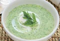 ako uvariť petržlenovú polievku s bryndzou