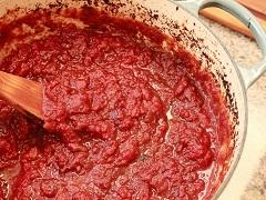 domácai paradajkový pretlak