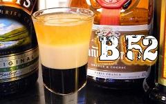 miešaný nápoj B52