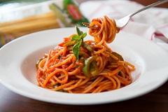 ostré špagety