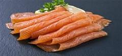 plátky lososa