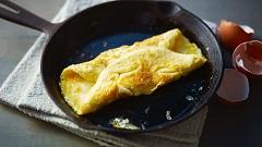 príprava omelety