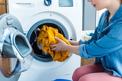 pranie softshellu