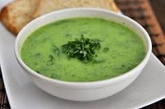 recept na špenátovú polievku