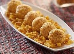 recept na guľôčky z kukuričných lupienkov