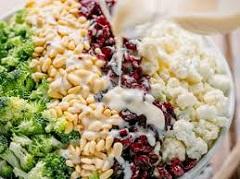 recept na karfiolový šalát