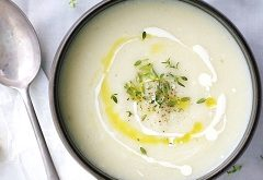 recept na karfiolovú krémovú polievku